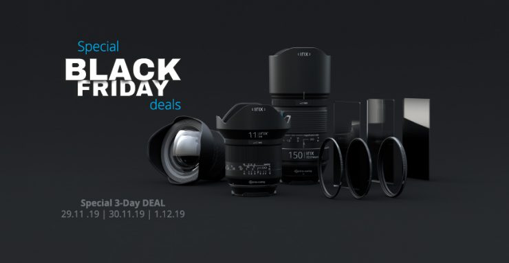 Irix BLACK FRIDAY Special 3 Day DEAL