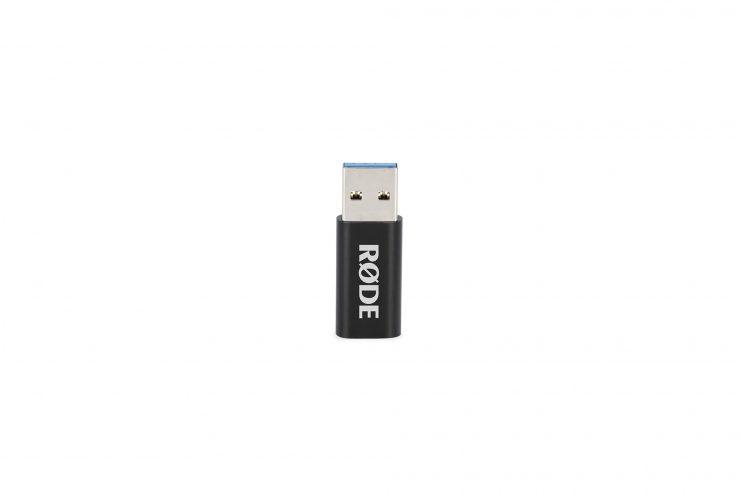 RØDE VM NTG USB A TO C RGB