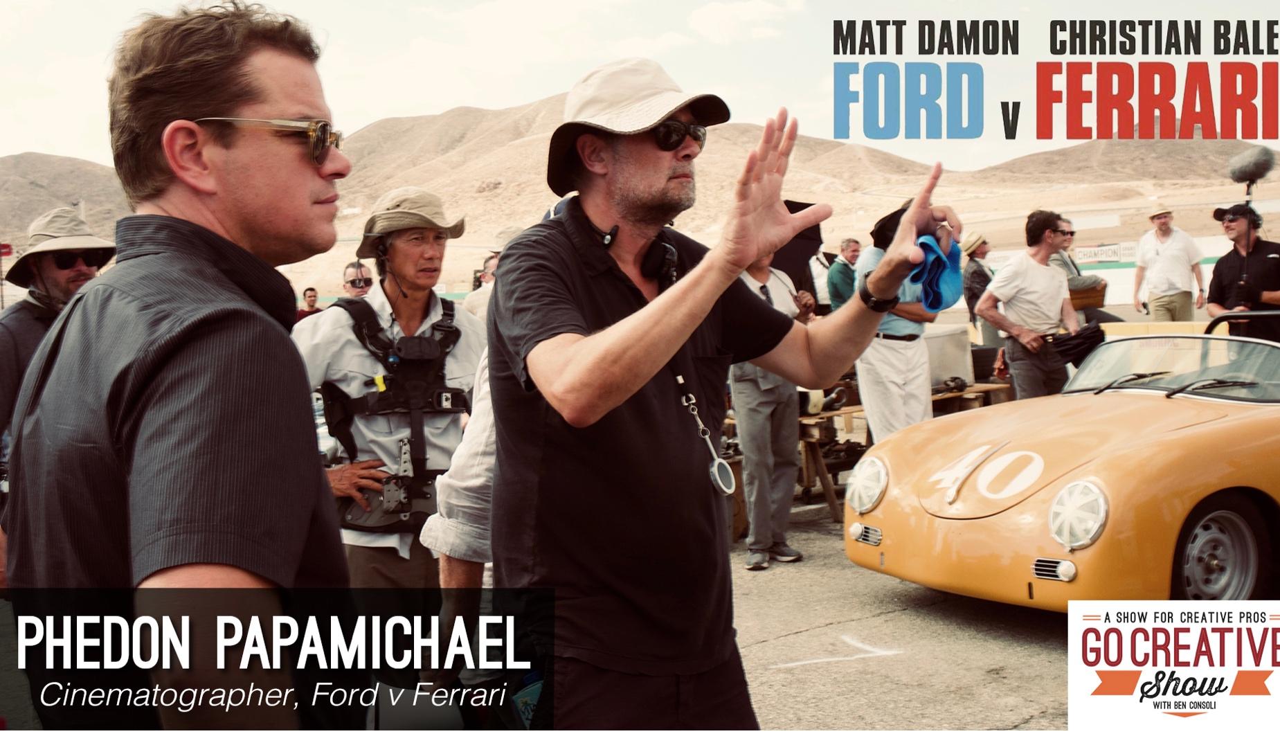 Ford v Ferrari Cinematography