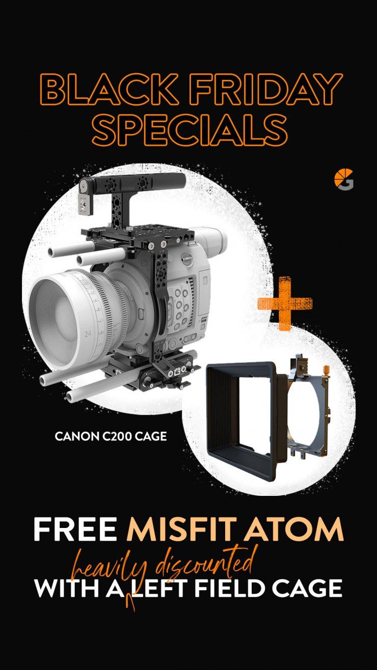 Story LF Cage Canon C200 Pola