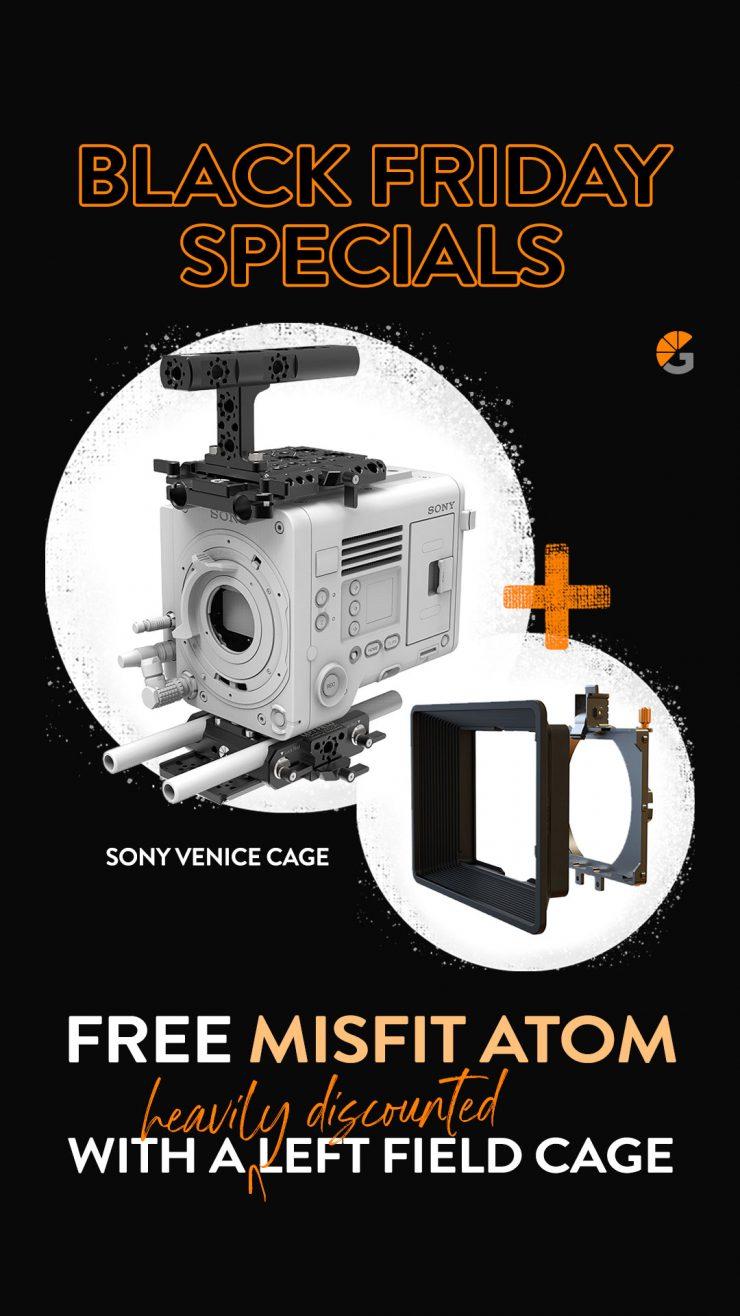 Story LF Cage Sony venice Pola