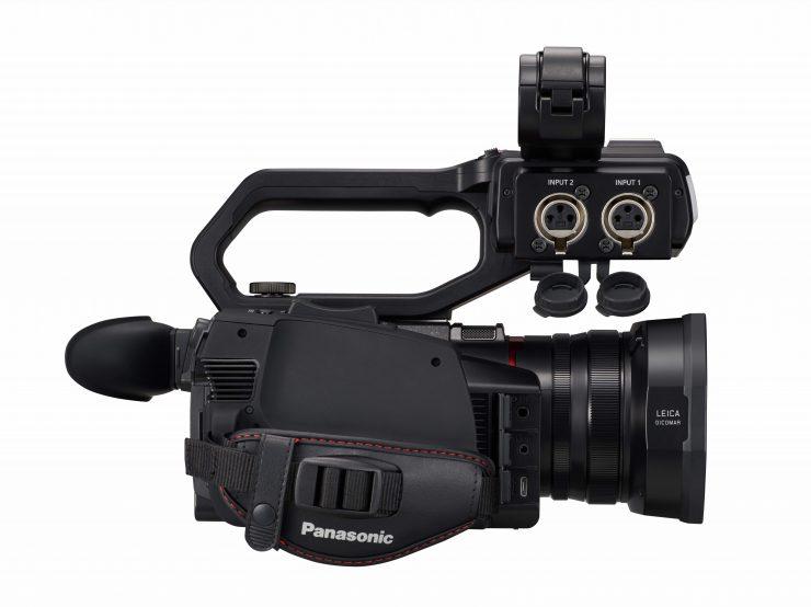 Panasonic CX10 X2000 back side 2
