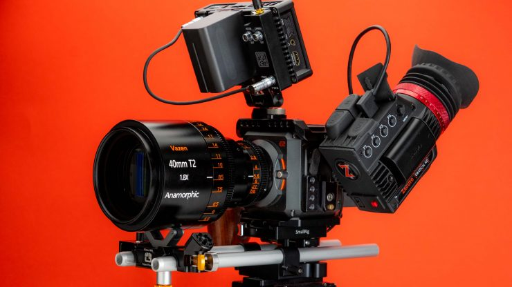 Vazen Anamorphic 40mm With Z Cam fully kitted out 2 2