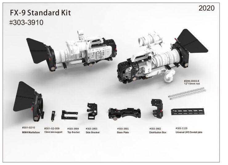 303 3910 FX 9 Standard Kit info 1