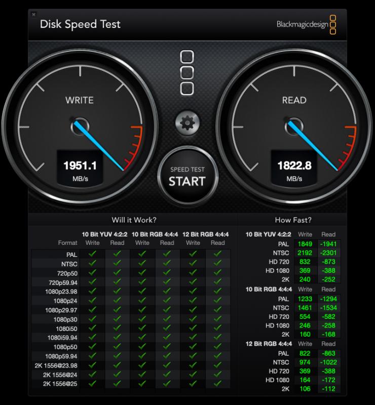 DiskSpeedTest 3