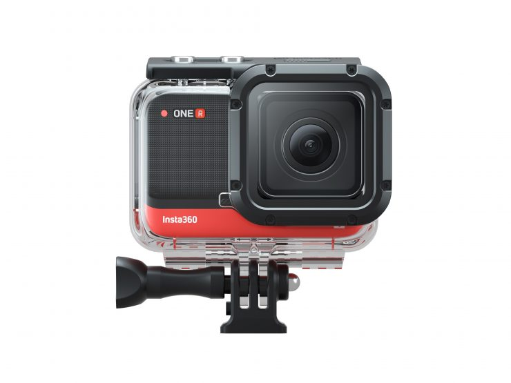 Dive Case for 4K with camera frontview 1