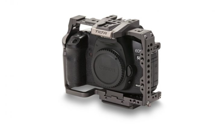 Full Camera Cage for Canon 5D Series Tilta Gray TA T47 FCC G 34front Legacy 2