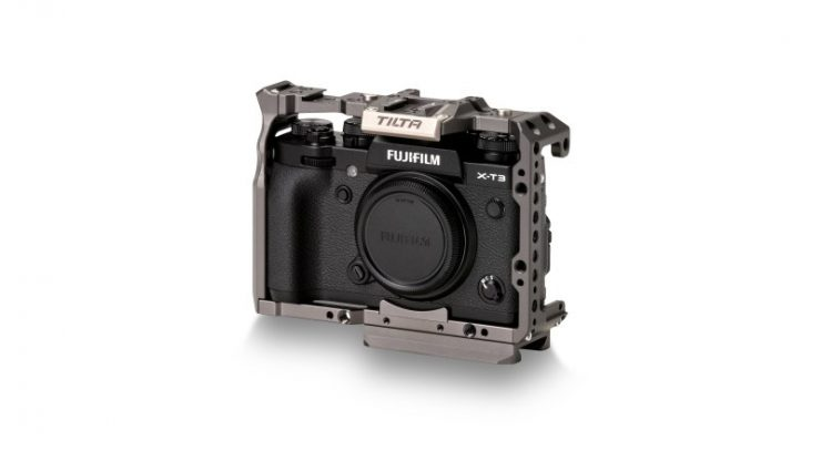Full Camera Cage for Fuji XT3 Grey TA T03 FCC G Front34 Legacy 2