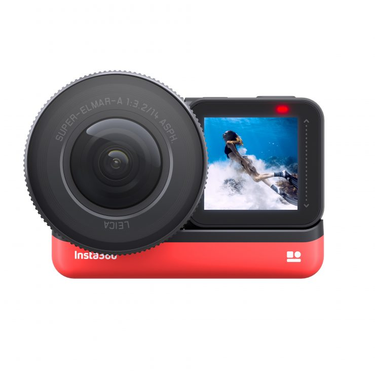 Insta360 ONE R 1 Inch Edition Frontview2