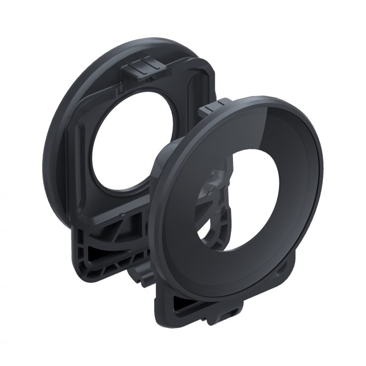 ONE R Lens Guard leftview