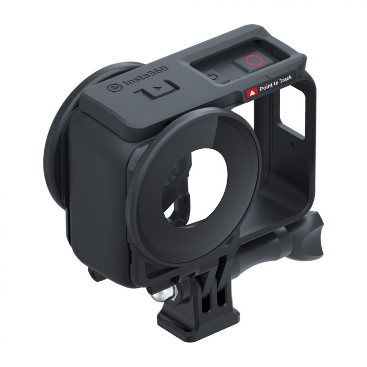 ONE R Lens Guard with Mounting Bracket topview