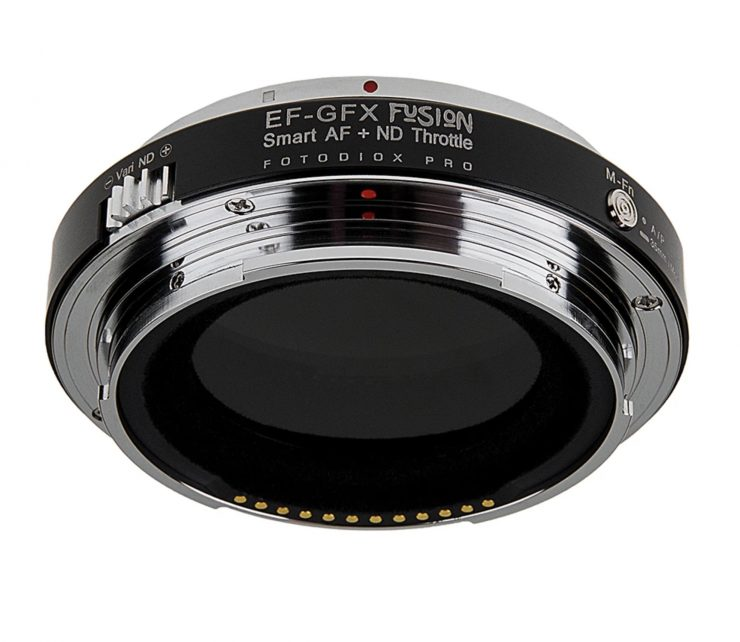 Fotodiox Canon to FUJIFILM GFX Autofocus Adapter with Variable ND