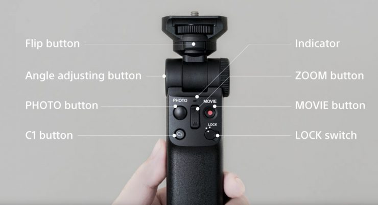 Sony Wireless Shooting Grip for Vloggers
