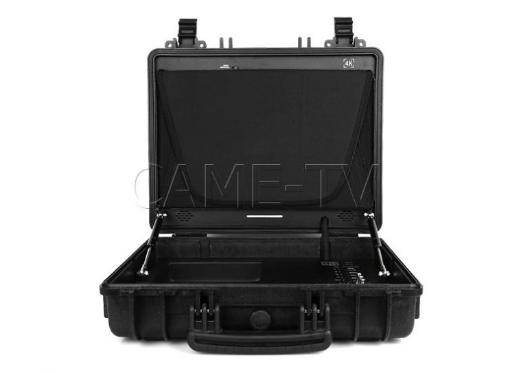 came tv portable case 4k 17 inch monitor with hdmi and 3g sdi 03