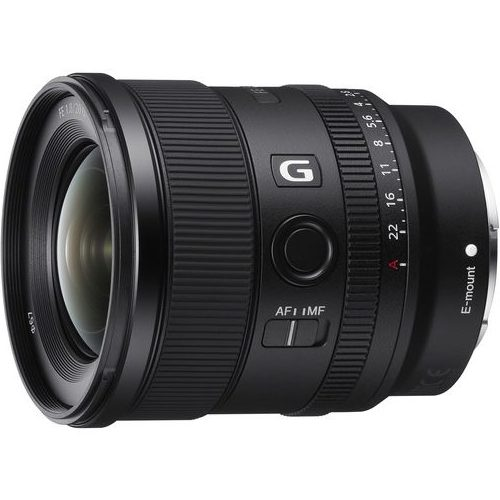 Sony introduces FE 20mm F1.8 G