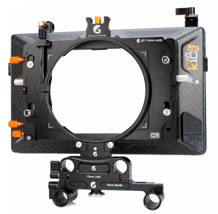 Misfit Kick w 15mm Studio 114mm Clamp Adapter 1