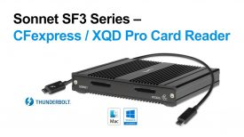 SF3 Series – CFexpress XQD Pro Card Reader