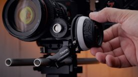 Tilta Mini Follow Focus on Z Cam