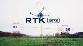 Freefly RTK GPS Centimeter Level Accuracy