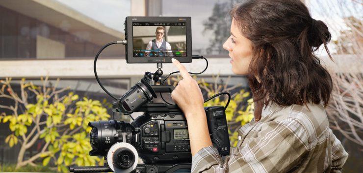 Blackmagic Design Video Assist 5 7 12g Hdr Get Blackmagic Raw Recording Newsshooter