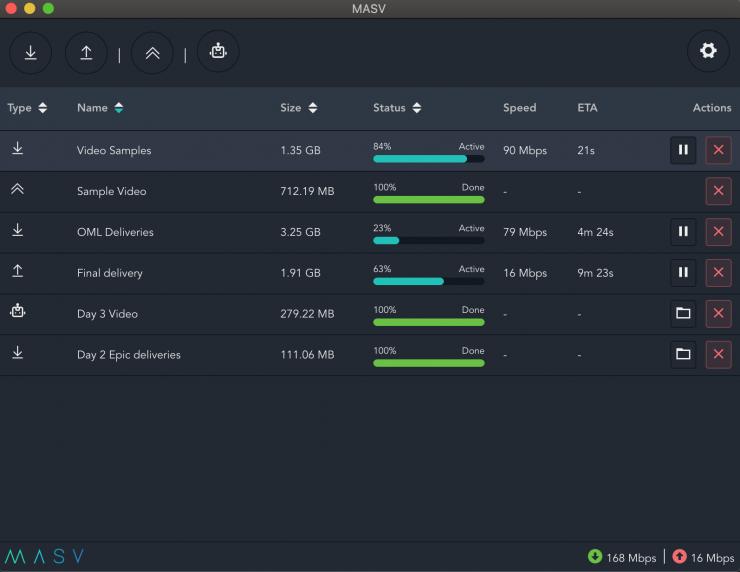 1 MASV App 2 NEW INTERFACE dashboard active dark