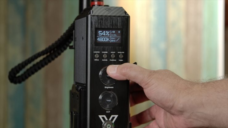 Aputure 300X controller