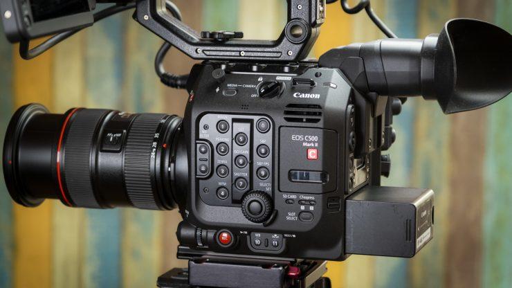C500 MKII camera