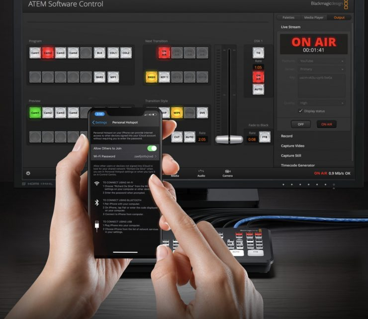 Blackmagic Design Releases Atem Mini Pro Newsshooter