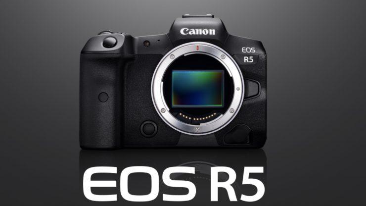 Canon EOS R5 – 8K RAW