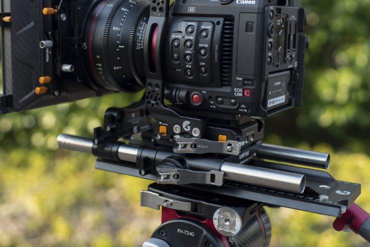 19mm studio bridgeplate with Canon C200 cage