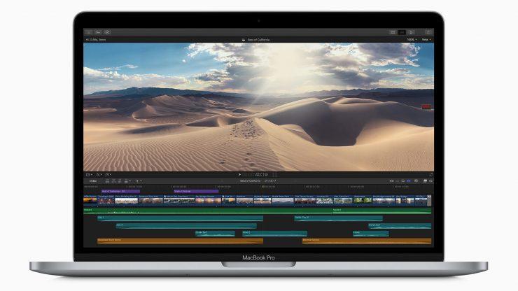 Apple macbook pro 13 inch with final cut pro screen 05042020