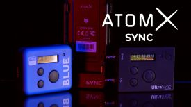 AtomX SYNC module for Ninja V and Timecode Systems wireless timecode with PhotoJoseph