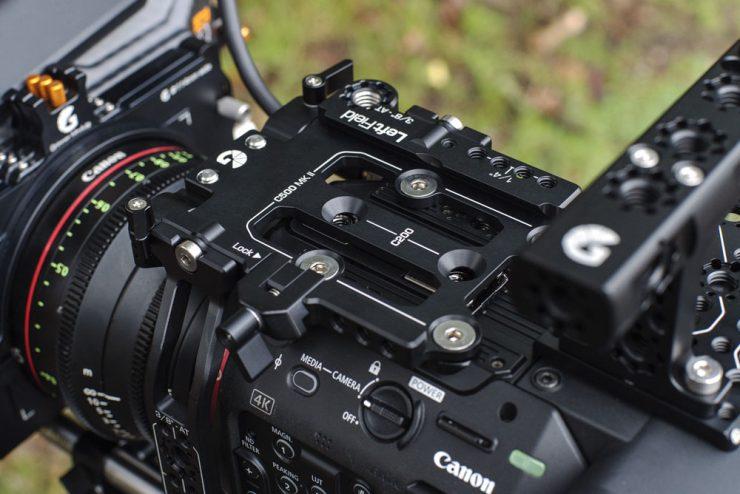 Canon C200 C300iii C500ii top plate quick release