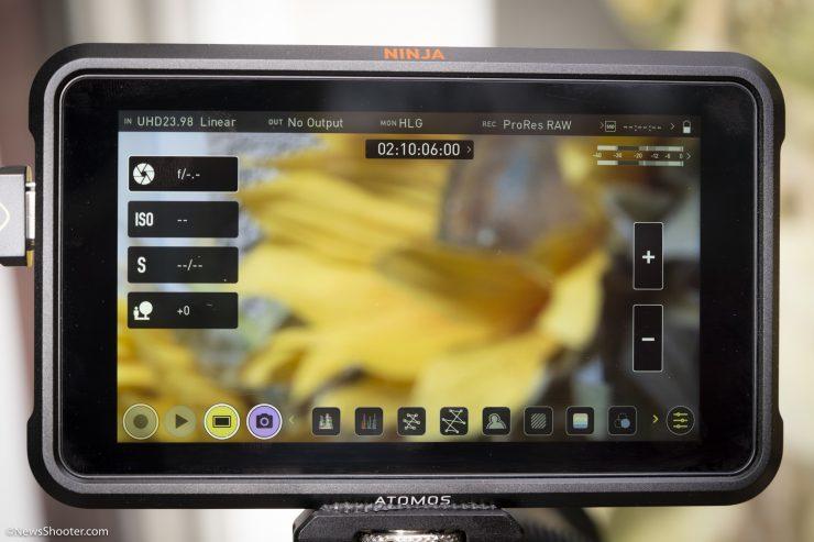Z Cam and Ninja V Camera Control wide