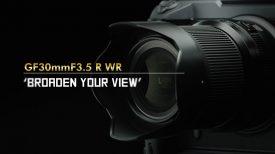 FUJINON GF30mmF3 5 R WR Promotional video FUJIFILM