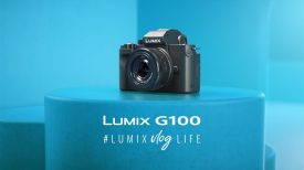 Introducing LUMIX G100 G110 Mirrorless camera for vloggers