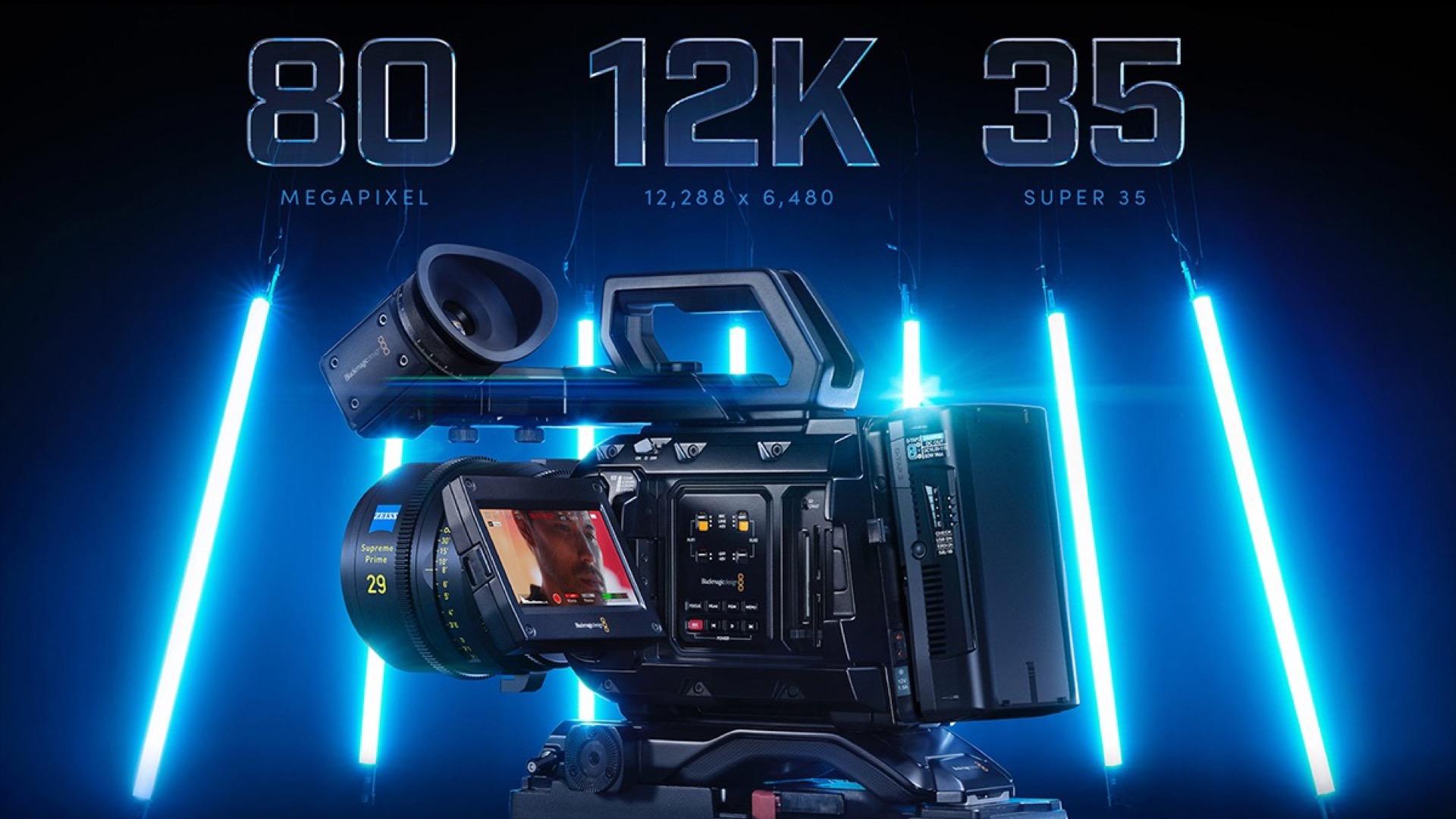 Blackmagic Design Releases Ursa Mini Pro 12k Camera Newsshooter