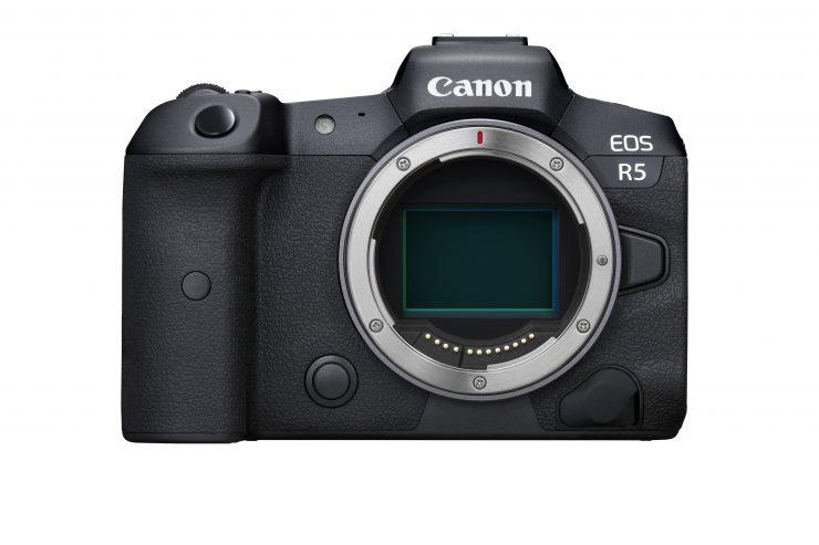 Canon EOS R5 Front BODY
