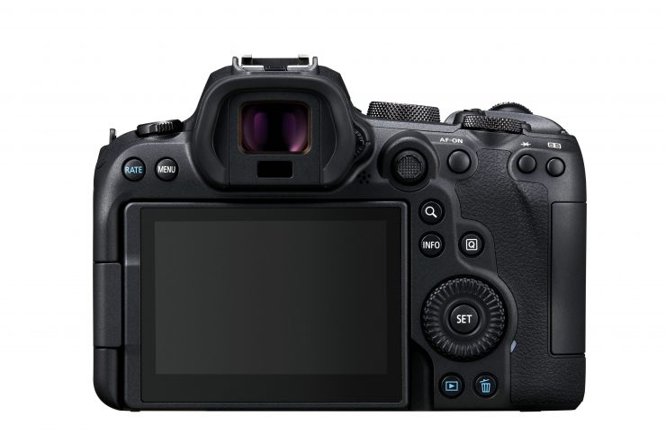 Canon EOS R6 Back BODY