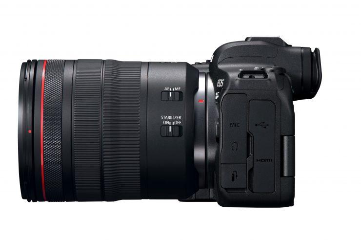 Canon EOS R6 Left RF24 105mmF4LISUSM