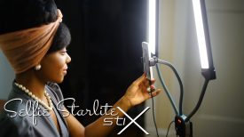 NEW LED Light for Vloggers Filmmakers Makeup Artists The Selfie Starlite Stix
