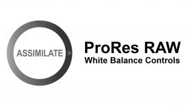 ProRes RAW White Balance Controls