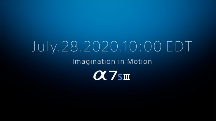 Sony a7sIII relese date