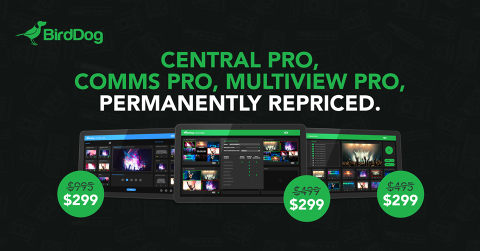 BirdDog Pro software permanently repriced to $299