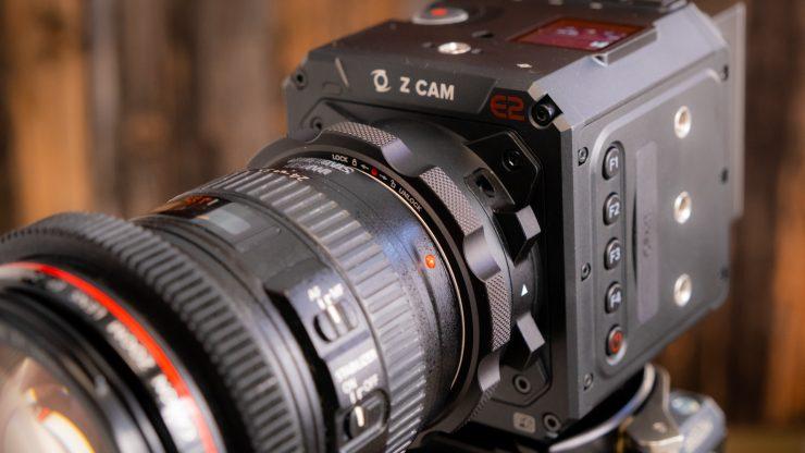 E2 F6 Canon 24 105 on
