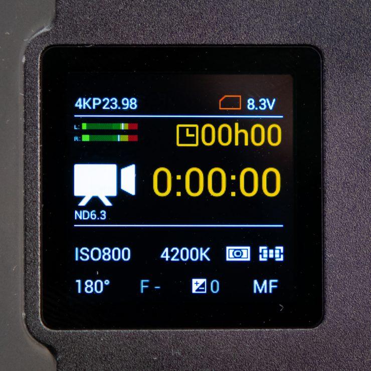 E2 F6 MENU operation screen 1