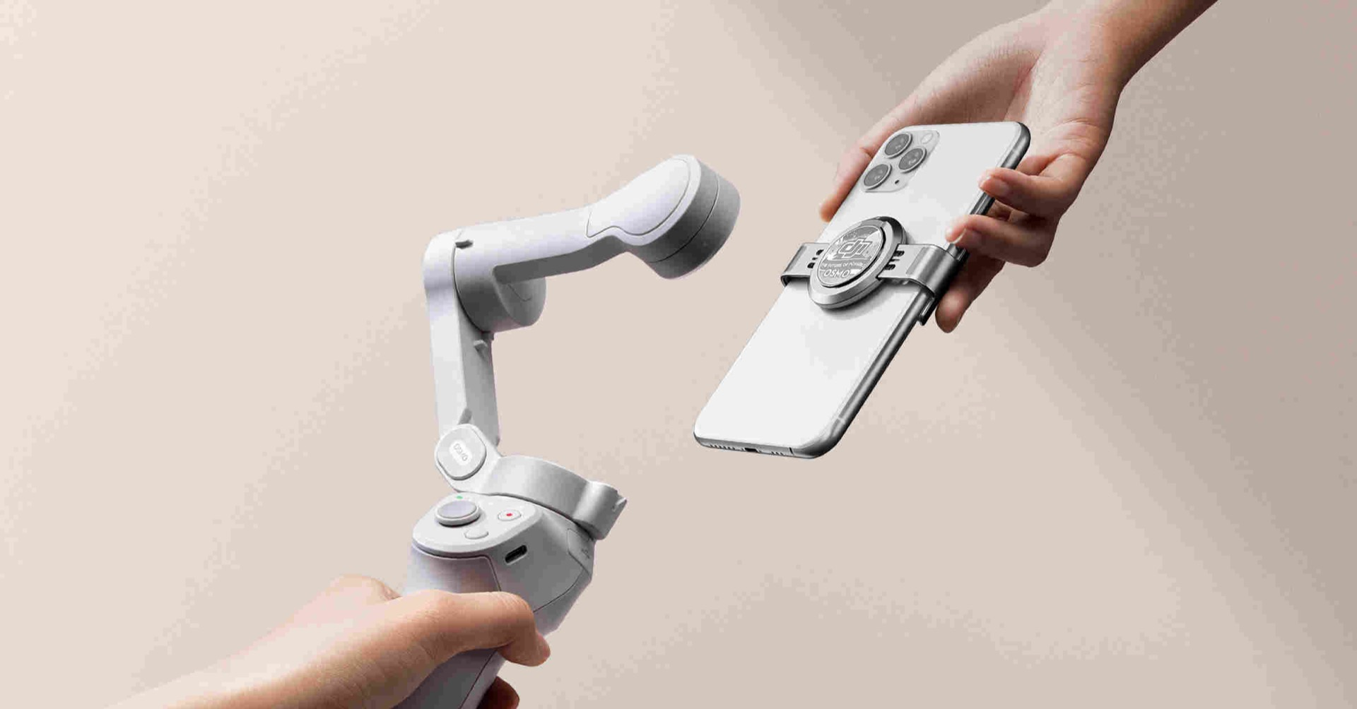DJI OM 4 Smartphone Stabilizer with a Magnetic Mount - Newsshooter