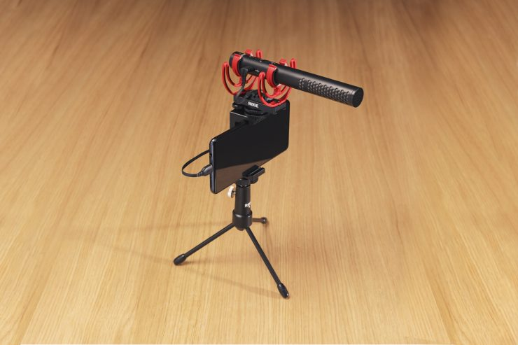 RODE SC16 VideoMic NTG SAMSUNG VIDEO CHAT TABLE SETUP RGB