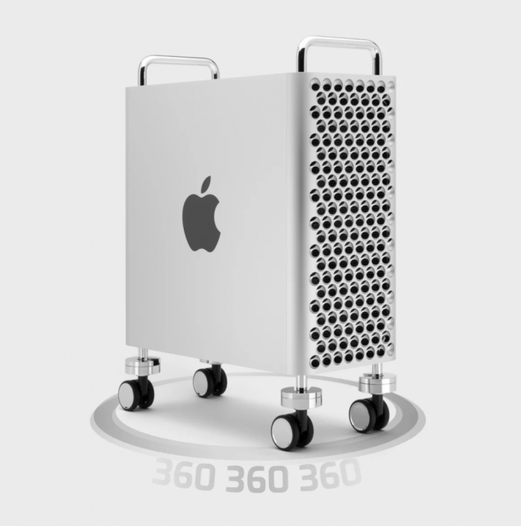OWC undercuts Apple's $699 Mac Pro wheels with $199 conversion kit