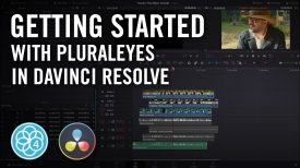 Shooter Suite Getting Started With PluralEyes 4 1 11 in DaVinci Resolve